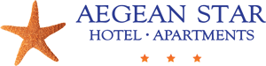 Aegean Star Hotel & Apartments in Folegandros Logo