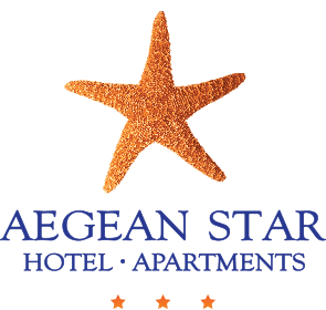 Aegean Star Hotel & Apartments στη Φολέγανδρο Logo